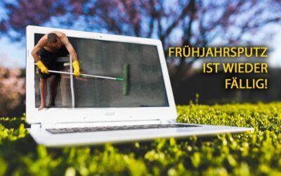 Frühjahrsputz für Computer